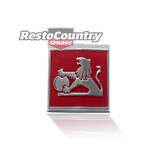 Holden HZ -LION- Grille Badge Emblem - Metal Top Of Grille inc mount nut