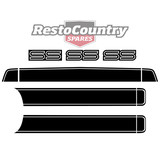 Holden HQ SS Stripe Decal Kit Stripes Bonnet & Boot Complete sticker