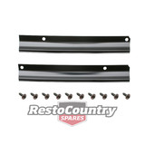 Holden Firewall / Bonnet Lacing Side Retaining Plates HJ HX HZ WB
