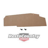 Ford Quarter to Boot MDF Panel XE XF Falcon Sedan wood trim qtr