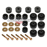 Holden 1 Ton Tonner Body Mount Kit HQ HJ HX HZ WB +Bolts +Washers rubber bush