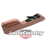 Holden Dark Brown MANUAL Console inc Armrest NEW HJ HX HZ WB GTS SS Monaro Coupe