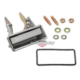 Ford Door Handle + Gasket + Fitting Kit RIGHT Front Outer RHF  XB XC ZF ZG ZH