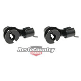 Ford Door Latch Lock Rod Retainer Clip x2 XR XT XW XY XA XB ZA ZB ZC ZD ZF ZG