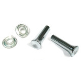 Holden CHROME Door Lock Knob Ferrule Kit HK HT HG HQ HJ HX HZ WB LC LJ LH LX UC