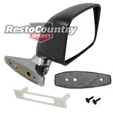 Holden GTS Door Mirror RIGHT + Gasket HQ HJ HX HZ WB LH LX UC TX exterior reverse