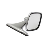 Universal Square Chrome Door Mirror x1 Left or Right holden ford