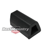 Moulded Docking Rubber -Ribbed 93x104x200mm HEAVY DUTY Truck Trailer Wharf Bay