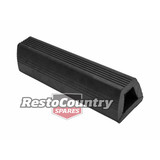Moulded Docking Rubber -Ribbed 93x104x400mm HEAVY DUTY Truck Trailer Wharf Bay