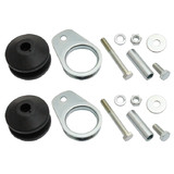 Holden Exhaust Hanger with Bracket x2 Kit HK HT HG LC LJ rubber mount pipe