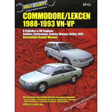 Holden Commodore / Toyota Lexcen VN VP Workshop Repair Manual book