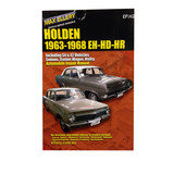 Holden Workshop Repair Manual EH HD HR 1963 - 1968 work shop book