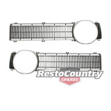 Ford XY Grille Insert Pair Left + Right All Models EXCEPT GT grill