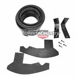 Ford Rear Bumper Bar Rubber Dust Seal +Bracket+Screw Kit XA Sedan XA XB XC Coupe