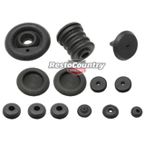 Holden Torana LH LX Firewall Rubber Grommet Kit 8pcs stop plug Resto Country