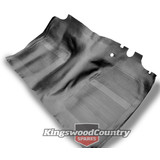 Holden HK HT HG Moulded Rubber Floor Mat FRONT Sedan Wagon Ute Van Monaro