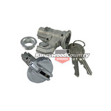 Holden Glovebox Barrel Lock +Case +Keys Chrome HQ HJ HX HZ WB LC LJ LH LX UC