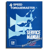 Holden GMH MC6 4spd Torquemaster Gearbox Service Manual Supplement NEW book