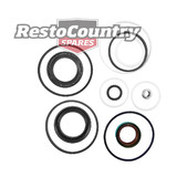 Holden Power Steering Box Seal Rebuild Kit 6Cyl + V8 HQ HJ HX HZ WB