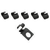 Holden Fuel Pipe Clip Set 6cyl BLACK EH HD HR HK HT HG HQ HJ HX HZ petrol pipe