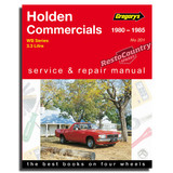 Holden WB Commercial - 6cyl Workshop Service + Repair Manual 1980-85 book 3.3