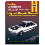 Holden Commodore VL - 6cyl Workshop Service + Repair Manual 1986-88 + Turbo book