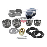 Holden Front Wheel Bearing Rebuild Kit x2 HK HT HG HQ HJ HX HZ WB Seal Cap Nut