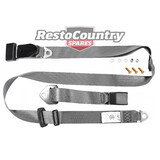 Holden LAP SASH Seat Belt x1 GREY Adjustable Webb HK HT HG HQ HJ HX HZ WB ADR