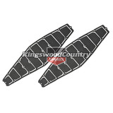 Holden 2x Relief Valve Vent Seal Grille HQ HJ HX HZ Ute Van Coupe Door