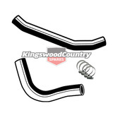Holden Service Radiator Hose +Clamp Kit HQ V8 350 Chev Monaro rubber