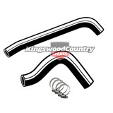 Holden Service Radiator Hose +Clamp Kit HT HG V8 253 308 -No Air Con