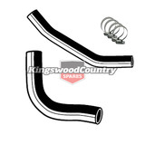 Holden Service Radiator Hose +Clamp Kit HT HG V8 350 Chev