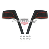 Holden Commodore Taillight Moulding Surround Set VK CALAIS Sedan reveal eyebrow