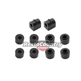 Holden 16mm Sway Bar Rubber Mounting Kit 6cyl FE EK EJ EH HD HR HK HT HG link