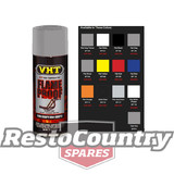 VHT High Temperature Spray Paint FLAMEPROOF FLAT SILVER. Exhaust Engine flame proof