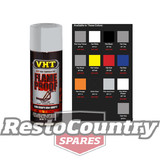 VHT High Temperature Spray Paint FLAMEPROOF FLAT ALUMINIUM engine flame proof