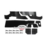 Ford Under Dash Insulation Set XR XT XW XY Falcon foam pad trim