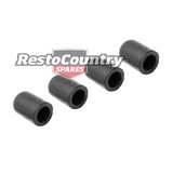 Rubber Vacuum Block Off Cap Kit x4 5/16 /8mm ID Carby Carburetor hose pipe blank