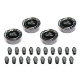 Holden GTS Wheel Cap Centre and Nuts Set HJ HX HZ + LH LX. 4 wheels
