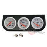"Speco 2"" inch Gauge Kit Oil Temp + Water Temp + Turbo Boost + Holder NEW pod"