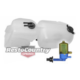 Holden Commodore Radiator Overflow /Washer Bottle + Pump VB VC VH reservoir tank