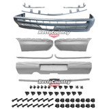 Holden Commodore FRONT + REAR Bumper Bar + Mould + Bolt + Clip Set VL SEDAN NEW