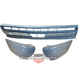 Holden Commodore VL Front Bumper Bar Kit 3x Piece NEW Left + Right + Middle
