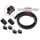 Holden Commodore Bonnet Lacing Rubber + Bump Stop Kit VB VC VH VK seal water