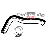 Holden Service LOWER Radiator Hose + Clamps WB V8 253 308 4.2 5.0