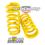 Holden Coil KING Spring PAIR HQ HJ HX HZ Wagon V8 FRONT STANDARD suspension