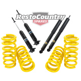 Holden Coil Spring +Shock HQ HJ HX HZ Sedan Coupe V8 FRONT REAR Sport Low 25mm