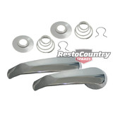 Holden INNER Door Handle Pair x2 W/O Arm Rest HK HT HG HQ HJ HX HZ WB