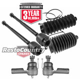 Holden Torana Steering Rack Ends + Tie Rods + Rack Boots Kit LC LJ
