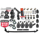 Kit 2. Holden Front End Rebuild Kit. HK Tie Rod+Ball Joint+ Bush+Idler+Drag Link